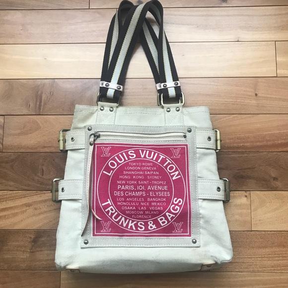 Louis Vuitton Handbags - LOUIS VUITTON Canvas Trunks   Bags Tote. f338dd3a355e7